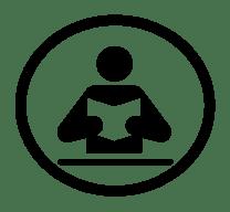 icono-leer-circulo-cultura-biblioteca